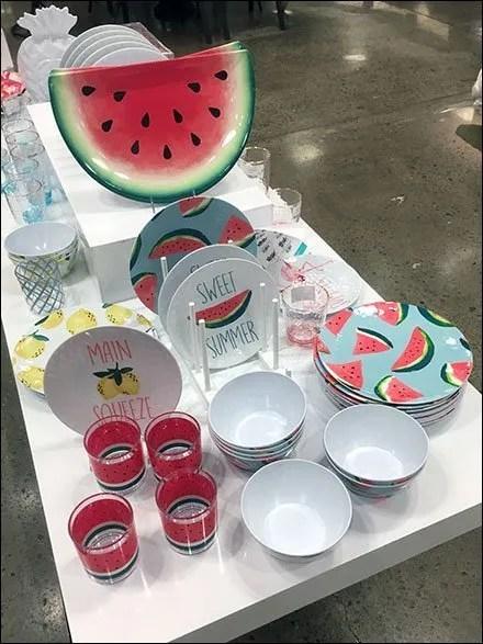 Sweet Summer Watermelon Tableware Focus