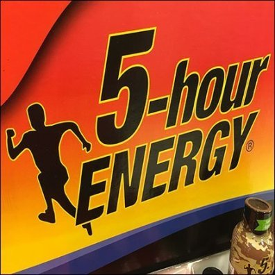 5-Hour Energy Mobile Tower Merchandising Logo Square