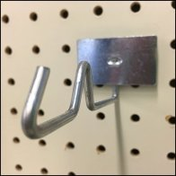 Anti-Sweep Galvanized Hook Back-Labeled