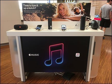 Apple Music Compatible Speaker Display Icon