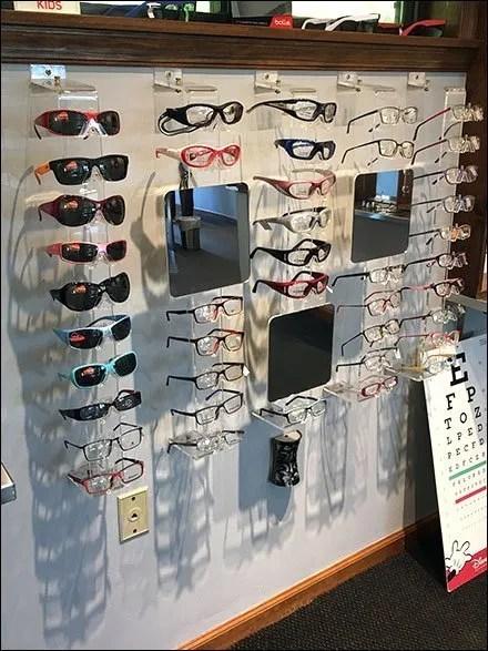 Bolle Children's Sunglasses Wall Merchandisers