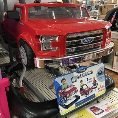 Branded Ford F150 Shelf-Edge Sales Main1