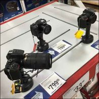 DSLR Camera Slot Mount for Pallet Rack
