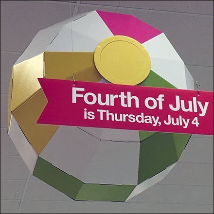 Don't Forget Fourth Of July Thursday Reminder
