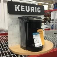 Exclusive Keurig Coffee Maker Half-Round Display