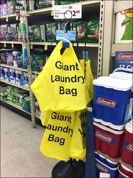 Giant Laundry Bag Adult Underwear Cross-Sell