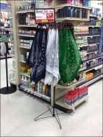 Grocery-Aisle Bandana Spinner Merchandising