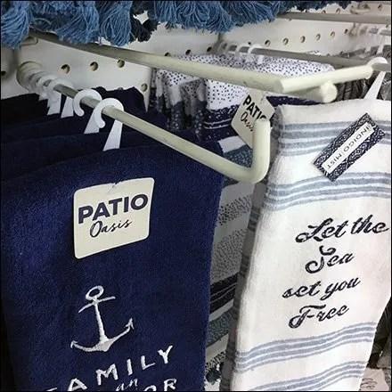 Hand Towel Inline Scan Hook Merchandising