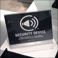 Fashion Jewelry Security Device Shelf-Edge Warning