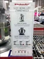 KitchenAid Bowl Mixer Display Owns The Shelf