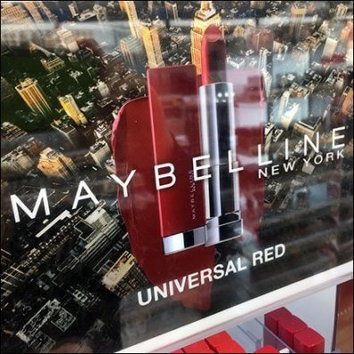 Maybelline Merchandises Universal Red Line