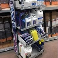 Do-It-Yourself Wallpaper Merchandising Display