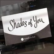 Sunglass Hut Shades of You Circular Tray