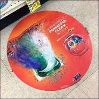 Surprisingly Powerful Circular Floor Graphic