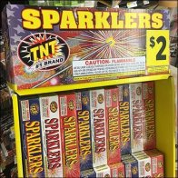 Sparklers Spectacular Freestanding Display