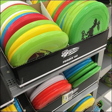 Wham-O Frisbee Novelty Category Definition
