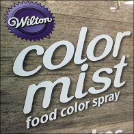 Color Mist Food Spray Aisle Invader Sign