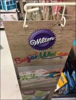 Wilton Sugar Writer Aisle Invader Sign