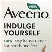 Aveeno Mask Plastic Scan Hook Merchandising