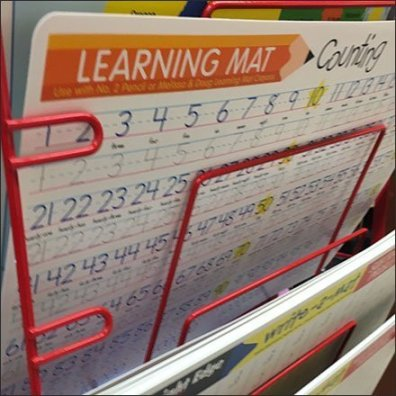Back-To-School Learning Mat Tower