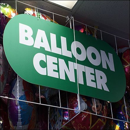Balloon Center Open-Wire Corral Ceiling