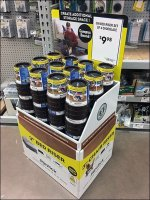 Bed Riser Corrugated Display In-Aisle