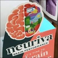 Brain-Better Freestanding Ledge Display