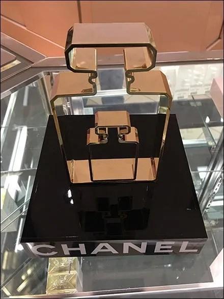 Chanel Perfume Bottle Silhouette Dimensional