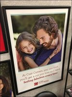 Cost-Cutters Family Lifestyle Poster Merchandising