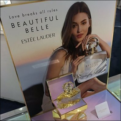 Estee Lauder Beautiful Belle Counter-Top Display