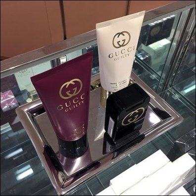 Gucci Guilty Counter-Top Tray Merchandising