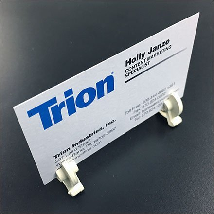 Inventory-Control-Clip Business Card Holder ICC