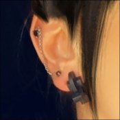 ICC Goth Earring Jewelry Inventory-Control-Clip