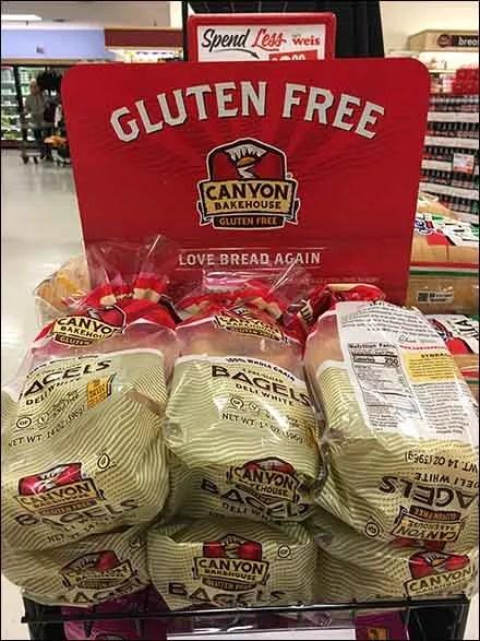 Gluten-Free Merchandising - Love Bread Gluten-Free Bakery Rack