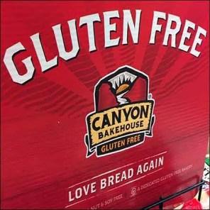 Love Bread Gluten-Free Bakery Rack