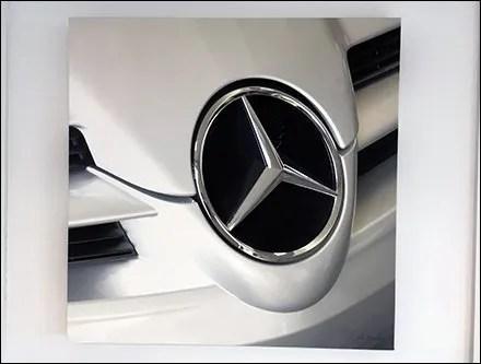Mercedes Benz Concept Car Wall Art