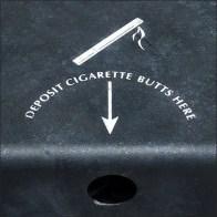 Mercedes Benz Cigarette-Butt-Disposal-Strategy