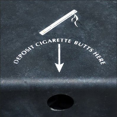 Mercedes Benz Cigarette-Butt-Disposal-Strategy