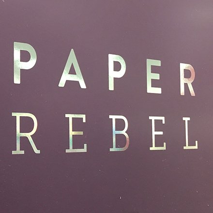 Paper Rebel Greeting Card Half-Aisle Display