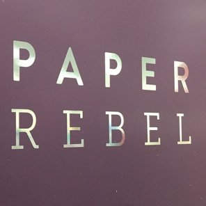 Paper Rebel Greeting Card Half-Aisle Display