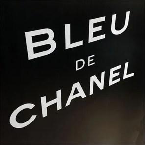Blue de Chanel Vertical Sign Stand