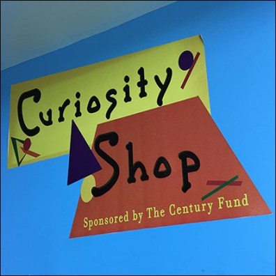 Curiosity Gift-Shop Outfitting Tour - Science-Center Curiosity Gift Shop