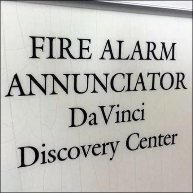 Science-Center Fire Alarm Annunciator