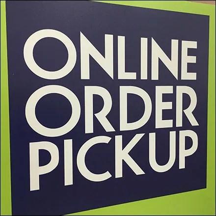 Boscov's Department Store Order-Pickup Navigation