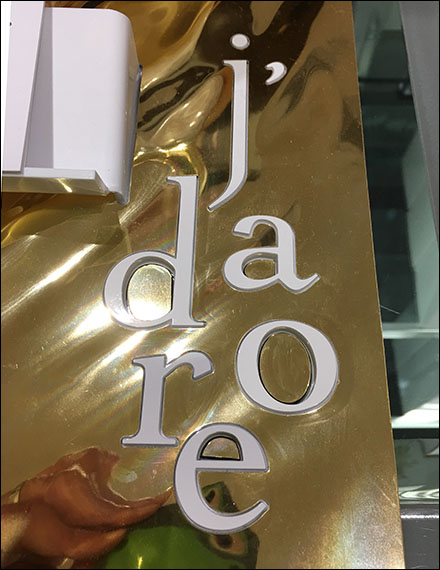 Dior J'adore Perfume Display Dimensionals