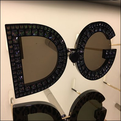 Dolce-&-Gabbana Sunglass Wall Display