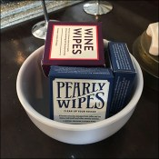 Elegant Wine Wipes Visual Merchandising