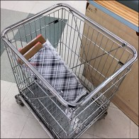 Specialty Fabric-Bolt Transport Cart