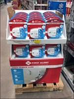 First Alert Carbon Monoxide Alarm Display