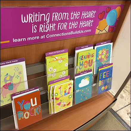 From-The-Heart Greeting Card Sentiment Sign